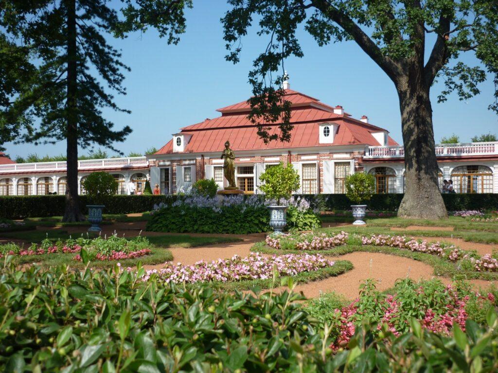 Фотография Монплезирского сада